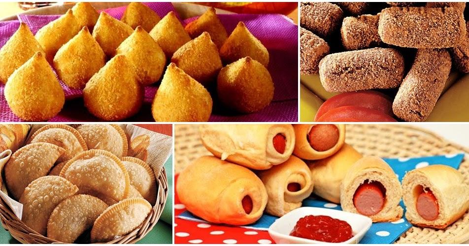 10 receitas de salgadinhos tradicionais para festas - Amando ...