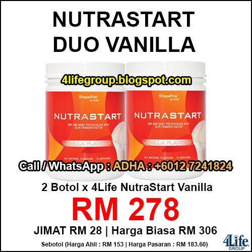 foto 4Life NutraStart Duo Vanilla
