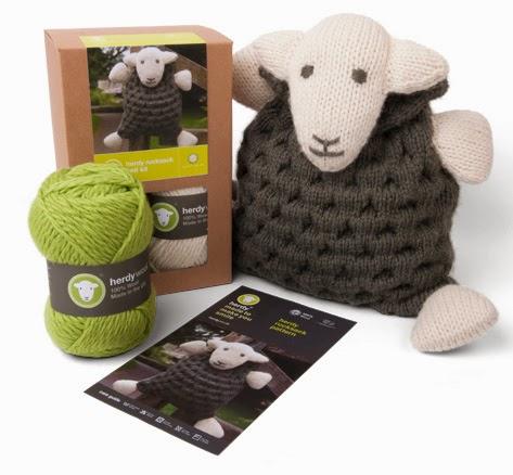 gift ideas for kids - 'Make Your Own Herdy' Rucksack Knit Kit