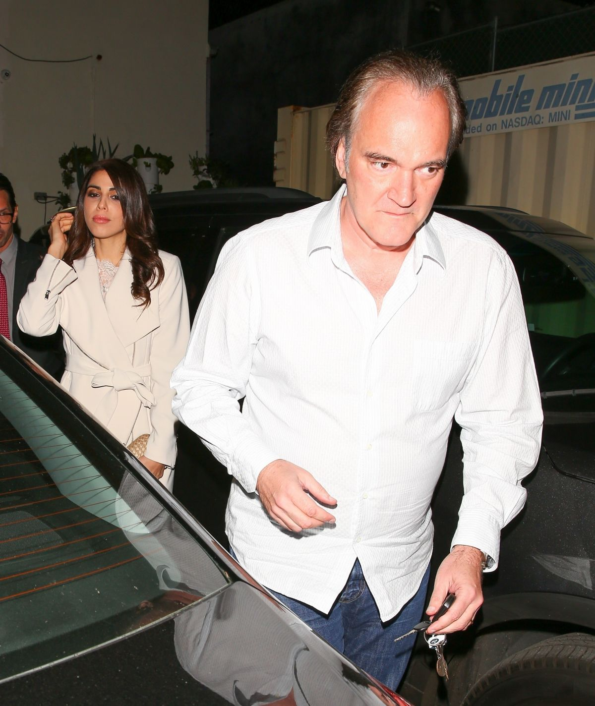 Quentin Tarantino enjoys a dinner date with Daniella Pick