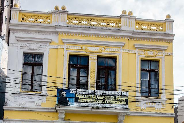 Unidade de Interesse de Preservação na Rua Lourenço Pinto - detalhe