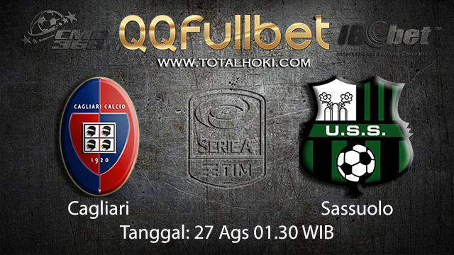 Prediksi Bola Jitu Cagliari vs Sassuolo ( Italian Serie A )