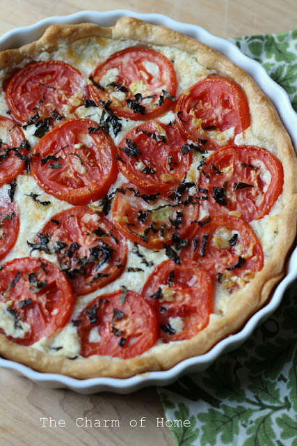 Tomato Tart: The Charm of Home