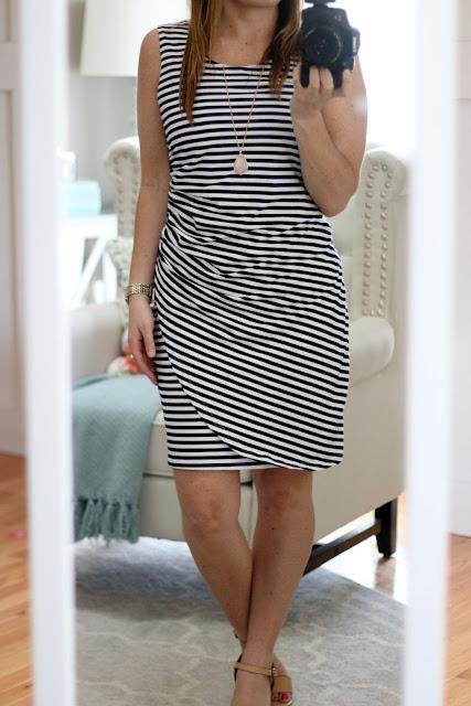 nautical dress spring dress summer dress