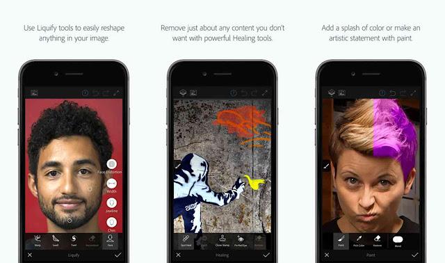 تحميل تطبيق فوتوشوب Photoshop Fix للاندرويد مجانا
