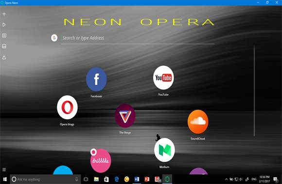 Browser Opera Neon