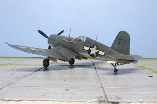 F4U-1A Corsair d'ARII au 1/48.