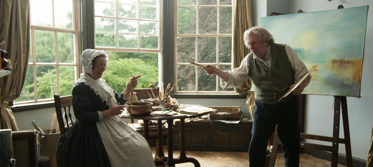 mr turner-marion bailey-timothy spall