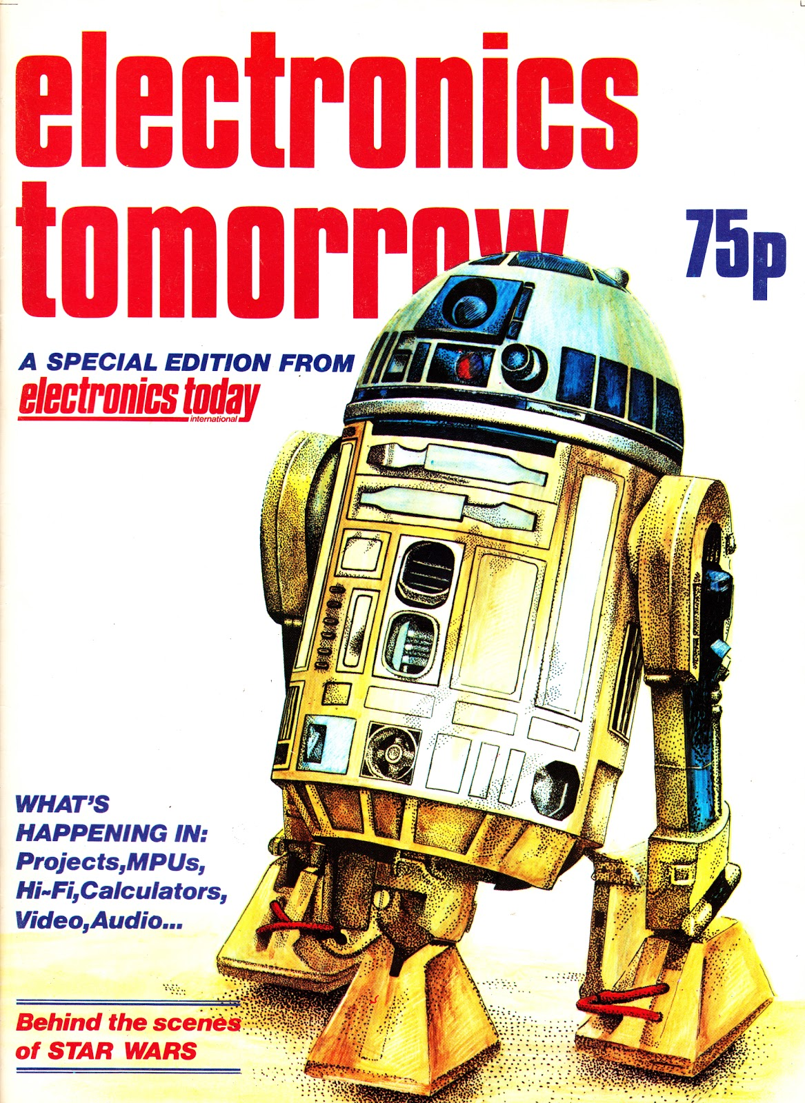 STARLOGGED - GEEK MEDIA AGAIN: 1977: STAR WARS DROIDS IN ELECTRONICS