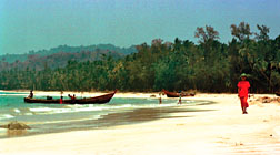 Myanmar beach holiday