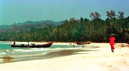 Myanmar beach holiday