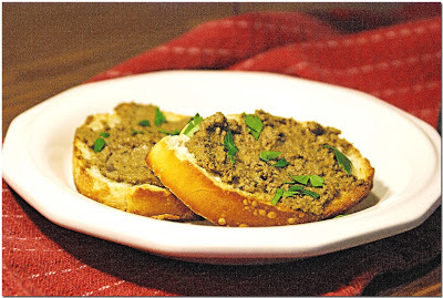 Crostini with Chicken Liver Pate (Crostini di Fegatini)