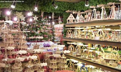 Wohlfahrt Weihnachtsdekoration Weihnachtsmarkt Hamburg Rathaus Rathausmarkt
