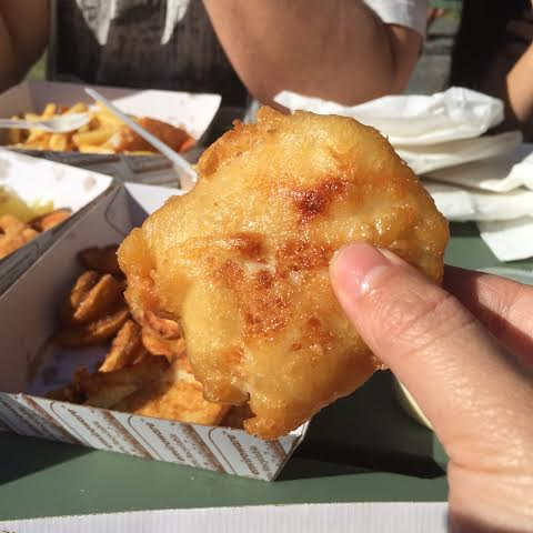 fish and chips;  peter's fish market;  mainbeach;  gold coast