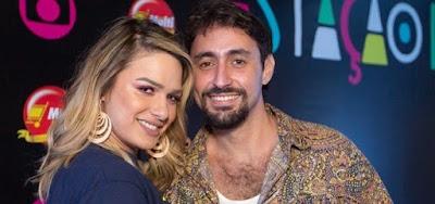 Glamour Garcia e o ex-marido, Gustavo Dagnese; atriz diz ter sido espancada enquanto estavam em lua de mel
