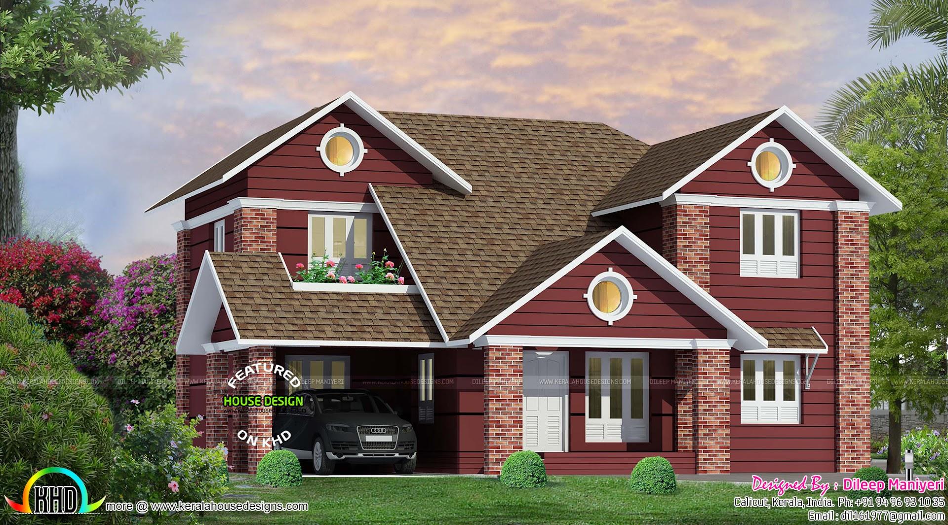 victorian model house in kerala kerala home design and