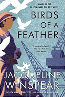 Birds of a Feather by Jacqueline Winspear (Book cover)