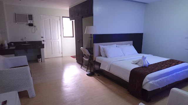 Suite room at Aicila Suites
