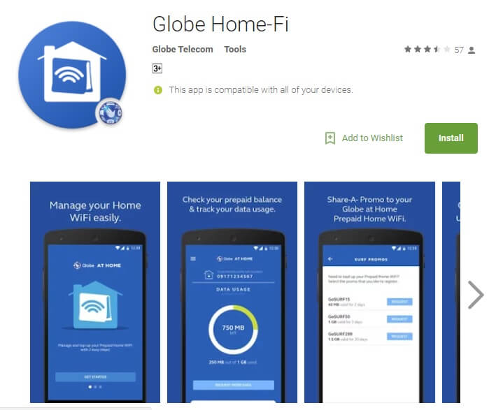 Globe Prepaid Home WiFi Users Can Now Manage Their Accounts Through Home-Fi App