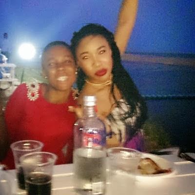 tonto dike and her housemaid oyinye 312