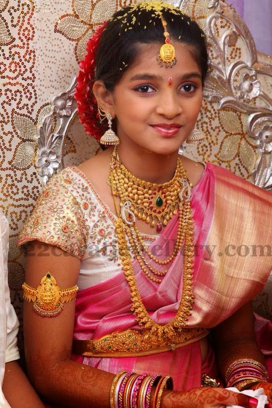 Gorgeous Girl Enchanting Gold Jewelry - Jewellery Designs - photo#1