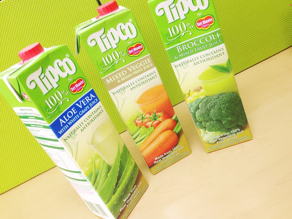 TIPCO Juice Packed with Antioxidants, fresh juice