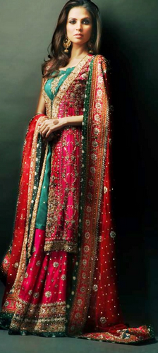 Dress Pakistani Beautiful 2012 Collection