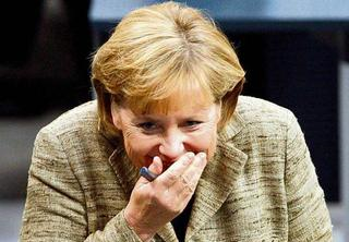 Канцлер ФРГ Меркель