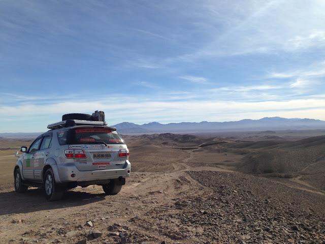 Roteiros de carro pelo Chile