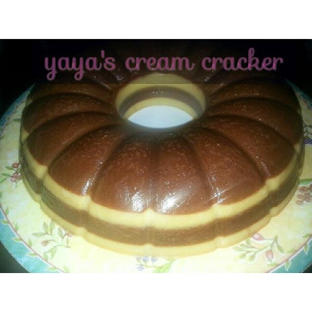 Puding Biskut 'Cream Cracker' Mudah Tapi Sedap