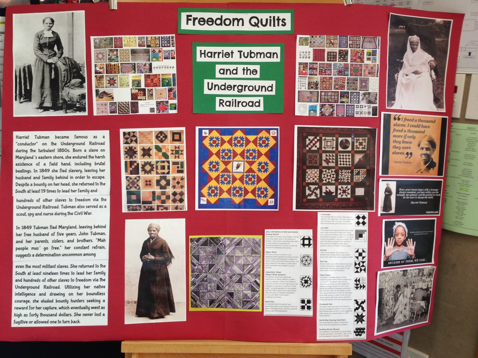 Freedom Quilts | Art Studio Learning Story