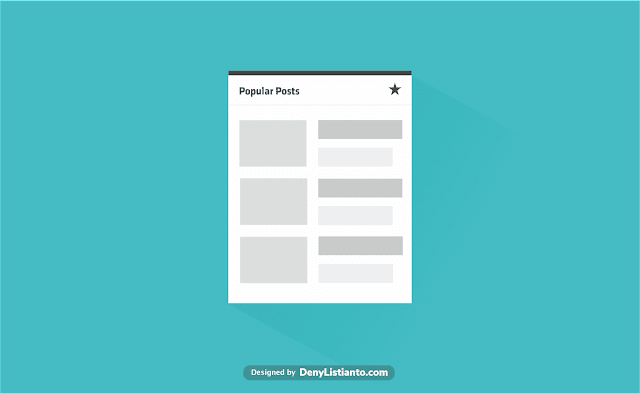 Snippet Popular Posts di Blogger