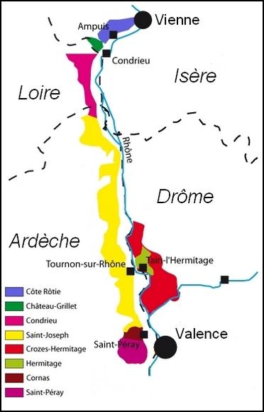 Vignobles de la Loire et de l'Ardèche