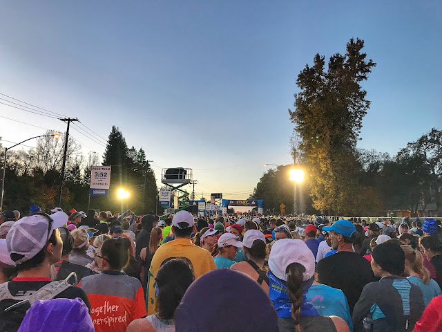 California International Marathon start line 2017