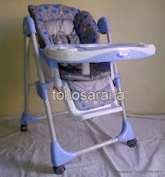 3 High Chair BabyDoes CH10 dengan Multi-position Recliner