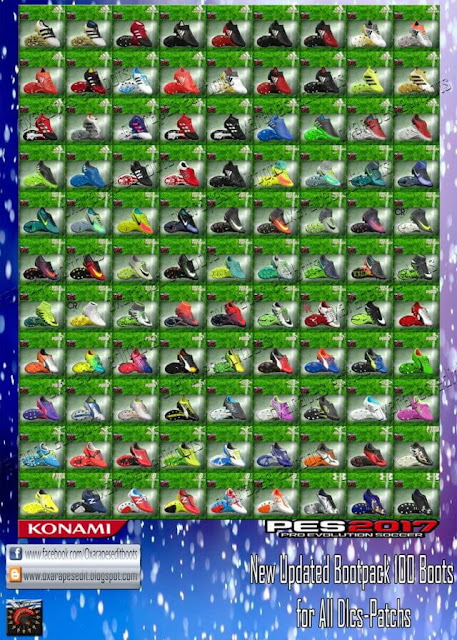 New Boot Pack 2016-2017 PES 2017