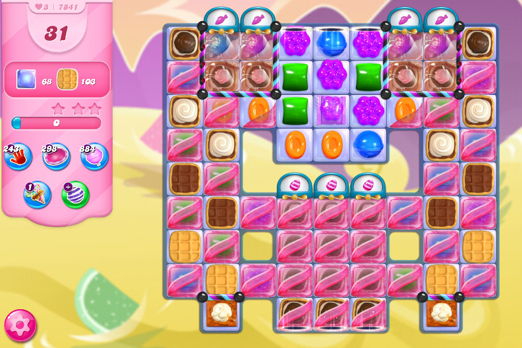 Candy Crush Saga level 7841