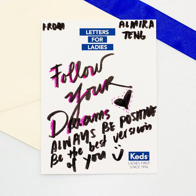 Letter from Almira Teng