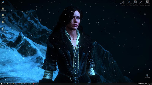 Yennefer of Vengerberg Wallpaper Engine