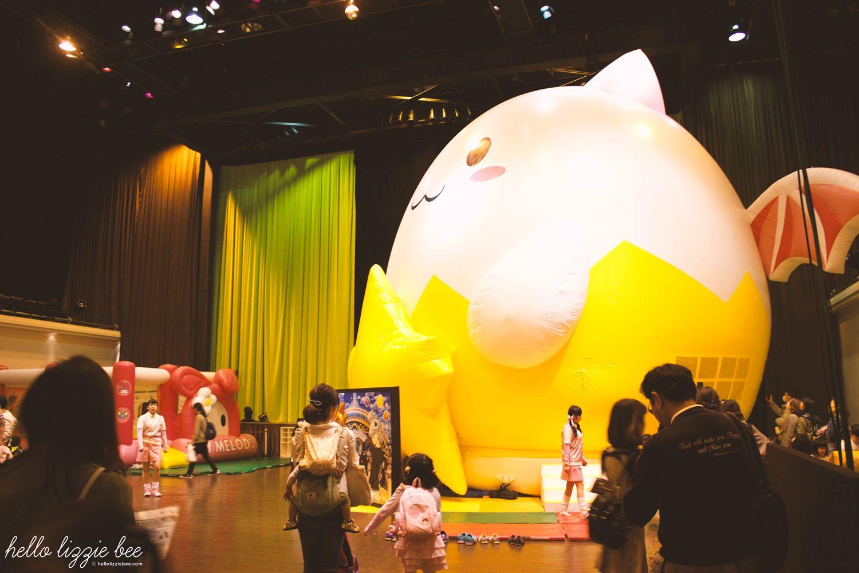 sanrio bouncy castle