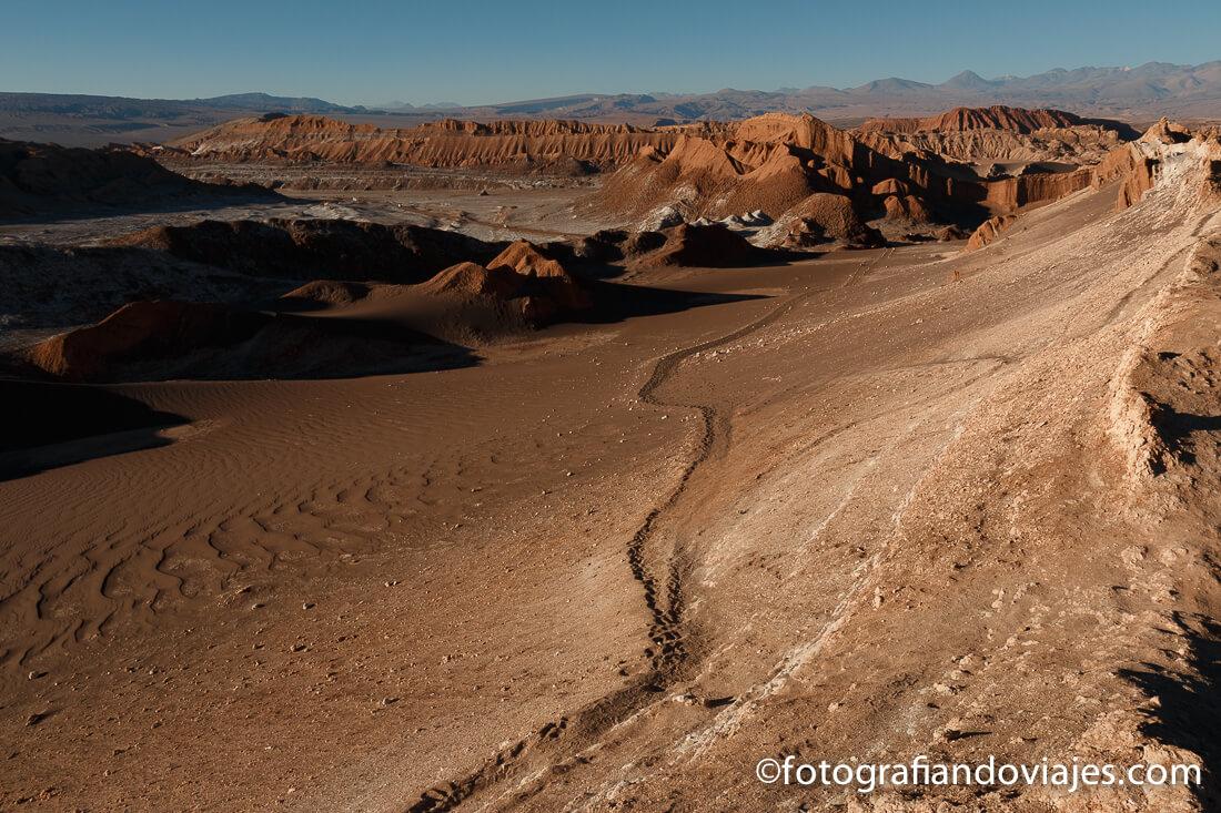 Valle de la Luna desierto de Atacama