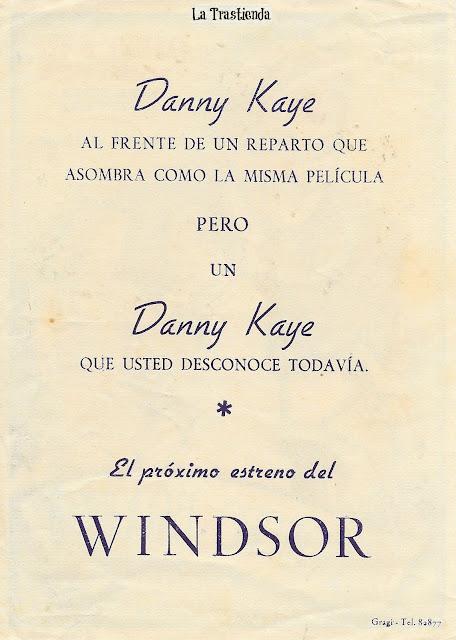 El Asombro de Brooklyn - Programa de Cine - Danny Kaye -Virginia Mayo