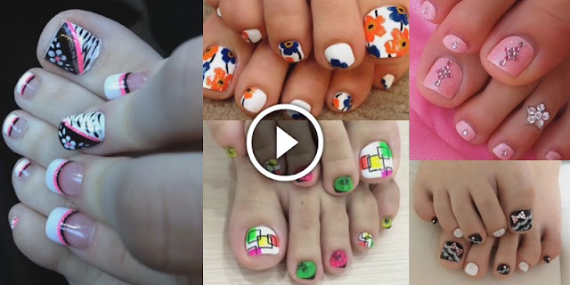 Nail DIY - How To Apply These Easy Toenail Arts At Home!