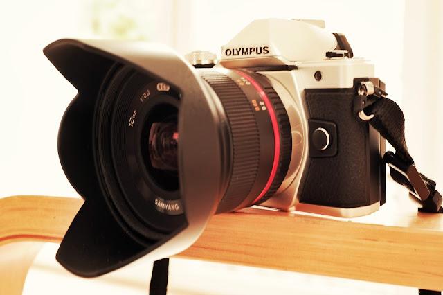 Die Olympus OM-D E-M10 Mark II mit Samyang | Mein neues Fotoequipment
