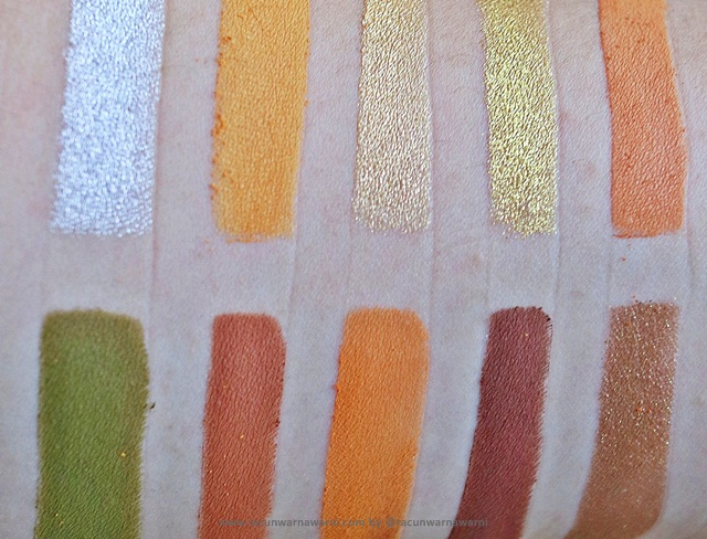 swatch vault collection eyeshadow