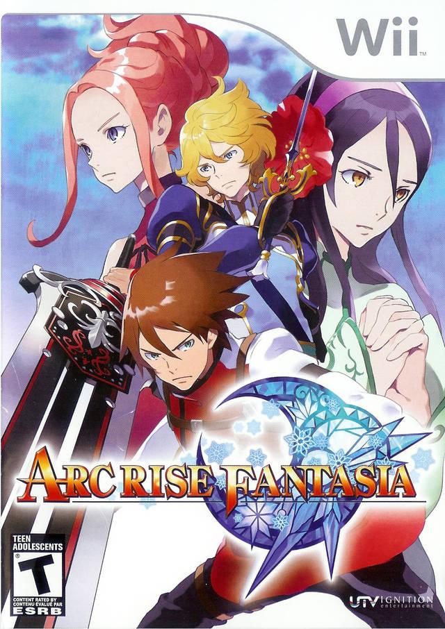 7677 1 - [Wii/WBFS] ARC Rise Fantasia [RPJE7U] Download