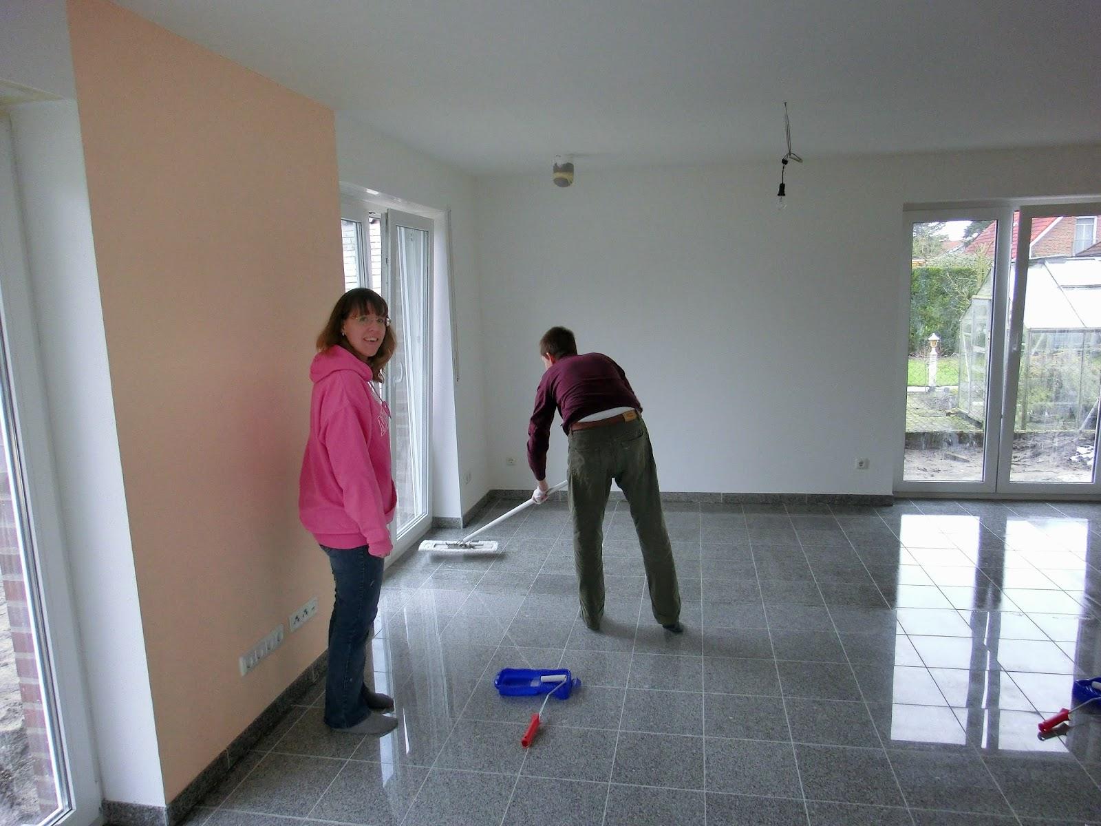 Extrem Wir bauen unser Traumhaus: Granit imprägnieren, 01.02.2015 WQ79