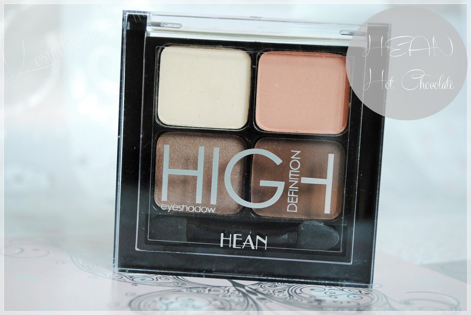 Gorąca czekolada od HEAN, High Definition eyeshadow