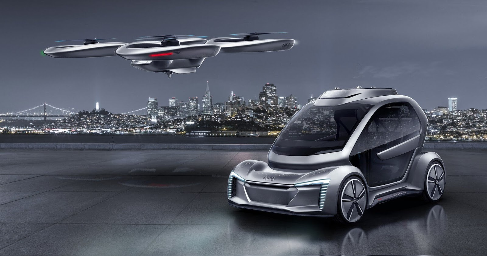 Germany going forward with Airbus and Audi's Flying Car Taxi concept