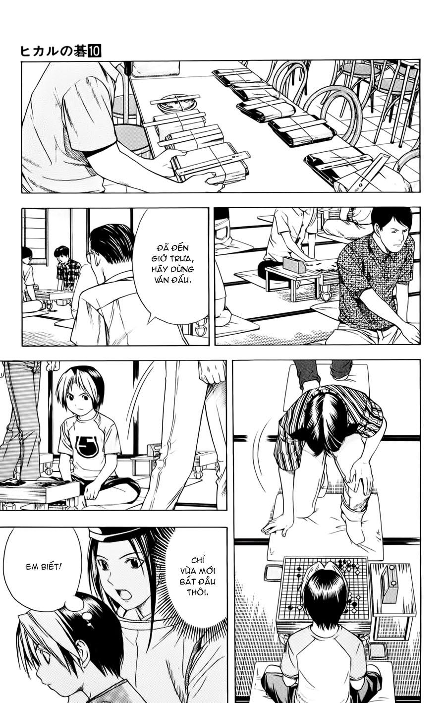 Hikaru No Go hikaru no go chap 81 trang 14